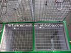 Galvanized Mink Cage