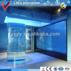 Factory Directly Sale-Cylinder Acrylic Aquariums Plexiglass Fish Tanks