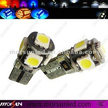 Low Power Consumpation T10 Cabus LED, auto LED Bulb