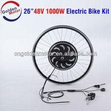 Programmable! 250,500,1000W electric bike conversion kit