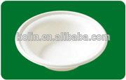 340ml(12oz) disposable paper bowl /biodegradable bagasse tableware