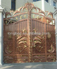 2013 Top-selling wrought iron storm doors