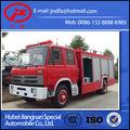 Dongfeng 153camion de pompiers à mousses d'eau à vendre 6000L (JDF5150GXFPM60E camion de pompiers de double type)