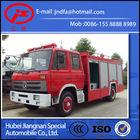 Dongfeng 153 water foam fire fighting truck for sale 6000L (JDF5150GXFPM60E dual type fire fighting truck)