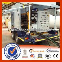 Mobile Trailer Vacuum Transformer Oil Treatment System, Mobile oil Purifier
