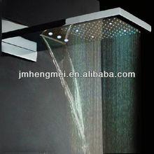 230*554*30mm bathroom led shower rain no electric need free energy