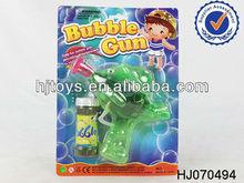 Inertia bubble gun toys(transparent color )