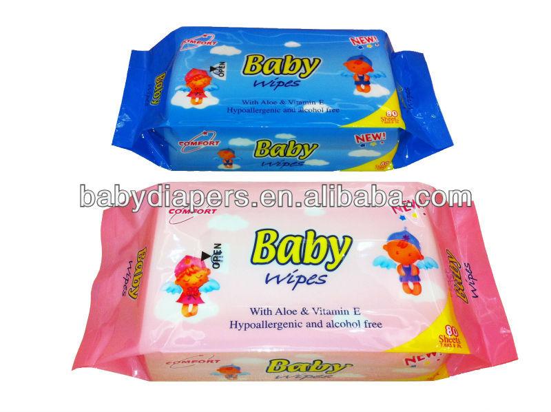 ผู้ผลิตจีนขายส่งทารกเช็ดเปียกใน2014