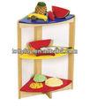 coloridas de madeira brinquedos da cozinha conjunto