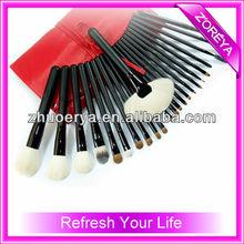 Top 2013 Red Makeup Bag Private Label Cosmetic Brush