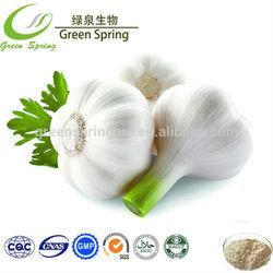 100% of high quality dehydrated garlic