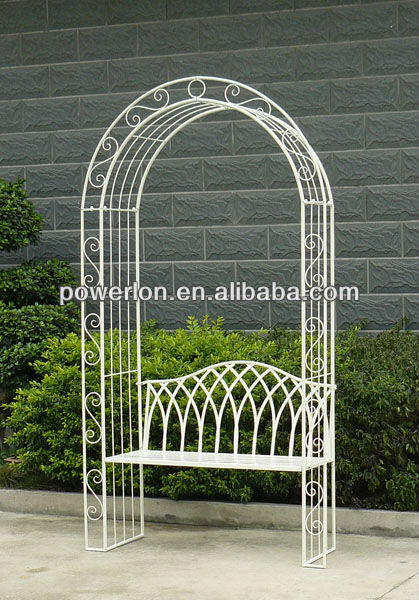 Decorativo de estilo g tico cl sico blanco antiguo de for Arco decorativo jardin
