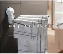 bathroom and kitchen circled towel rack