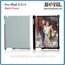 Sublimation Custom Phone Cover for iPad 2/3, DIY Sublimation Back Cover for iPad