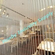 Room design 4.5mm balls decorative metal bead curtain