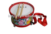 Solid Wooden Toy Drum Musical Instrument
