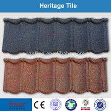 synthetic spanish stone coated flat concrete shingle roof tile
