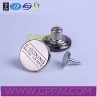 China manufacturer jean jacket metal button upholstery