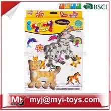 Meiyijia Direct selling plastic diy perler bead preschool amusement park toy BT-0056D