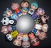 cartoon action figure, plastic figure, plastic toy Manufacturer