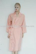Pink 100% Real Silk Terry pajamas-099
