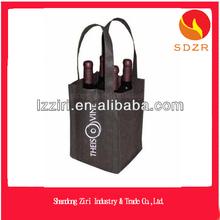 ziri customized 3 bottle wine bag