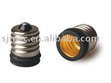 250v best price E17 to E14 lamp bulb cap