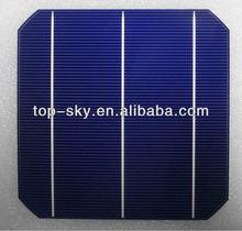 high efficiency 156*156 mono crystalline 6*6 solar cells for solar panel