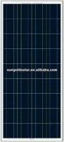 Competitive price per watt 120W solar power panel