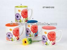 2013 hot sale cheap ceramic mugs for christmas