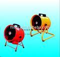Un - tipo máquina de vida-apoye/u - tipo de soporte axial ventilador de aire portátiles