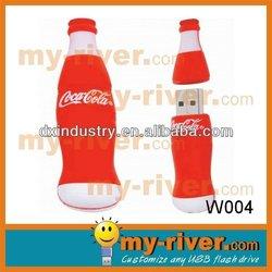 bottle shape flash usb