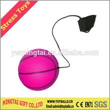 YOYOS Basketball Shape Pu Stress Ball,Finger Stress Ball