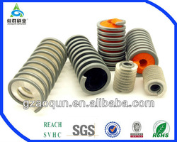 Machine cleaning roller brush for drill