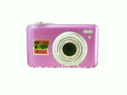 promotion 5x optical zoom CCD 15MP coloful camera DC-K710C