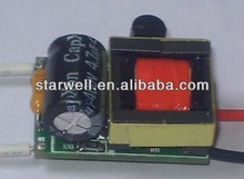 2*3W E27,GU10 LED driver power supply with UL,CE,FCC,GS certificate