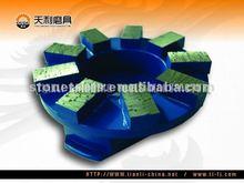 Diamond Fickert Abrasive Tools, Metal Polishing Material for Emery Wheel