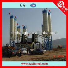 CE,ISO HZS60 precast wet concrete mixer plant