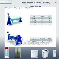 hand bending machine,Hand Operated Press Brake refrigerator equipment,freezer machine