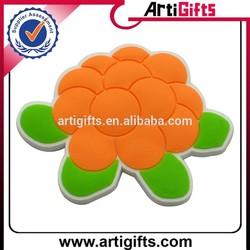 Cheap custom souvenir 3d soft pvc fridge magnets for different countries