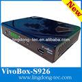 vivobox s926 receptor de satélite digital full hd 1080p iks sks receptor de tv hd 2013 fta receptor para nagra 3 decodificador de apoyo wifi