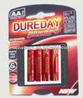 foil jackert aa aaa c d 9v 6v ultra alkaline batteries