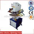 Tj-9 superfície plana pressador carimbo máquina de carimbo quente
