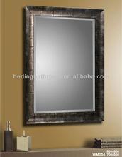 wall bathroom mirror in wooden/ aluminum frame/CE&IP44