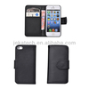 PU Leather Case with Card Slots for iphone 5