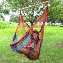 Outdoor Camping Cotton Parachute Hammock,cotton woven hammock