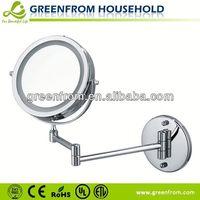 Double Sides Bathroom Mirror Adjustable Hinges