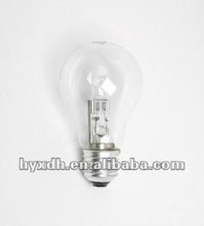 A60/A19 230V 28W E27 energy saving halogen lighting bulb