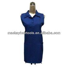 wholesale blank cotton aprons blue apron salon