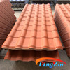 PVC plastic roof tiles/corrugated pvc roofing tiles/plastic spanish roof tile